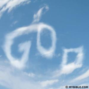 god in the clouds