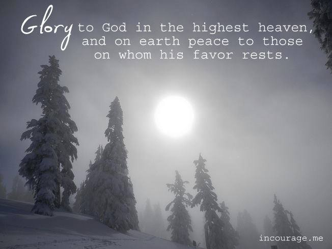 Want peace? Well, does God's favor rest upon you?
