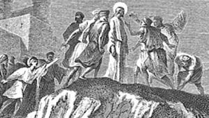 Jesus rejected at Nazareth by Alexandre Bida